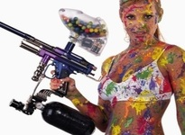 Paintball fille